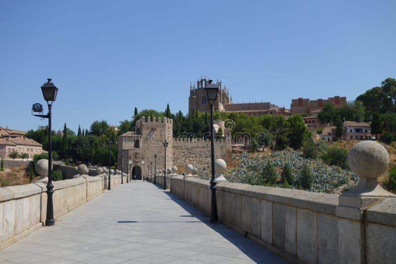 Stad van Toledo, Spanje stock fotografie