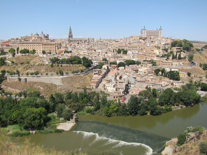 Stad van Toledo, Spanje stock afbeeldingen