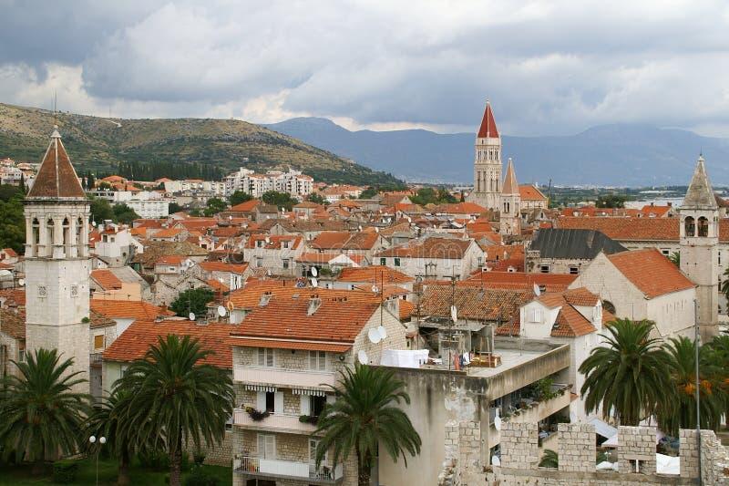Stad van Trogir stock foto