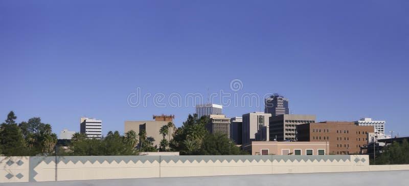 Stad van Tucson, AZ royalty-vrije stock foto