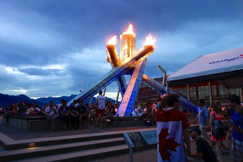 Stad van Vancouver, Canada royalty-vrije stock afbeelding