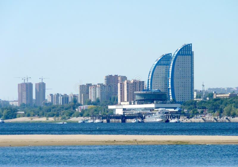 Stad van Volgograd stock foto's