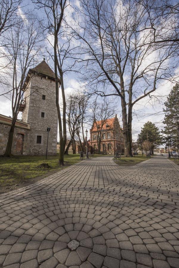 Stad van Wieliczka, Polen royalty-vrije stock fotografie