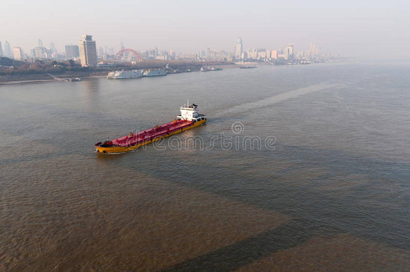 Stad van Wuhan, China royalty-vrije stock fotografie