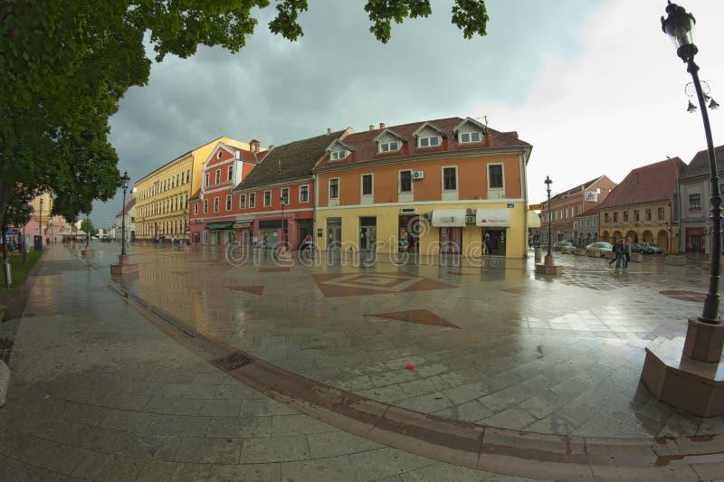 Stad Vinkovci royalty-vrije stock foto's