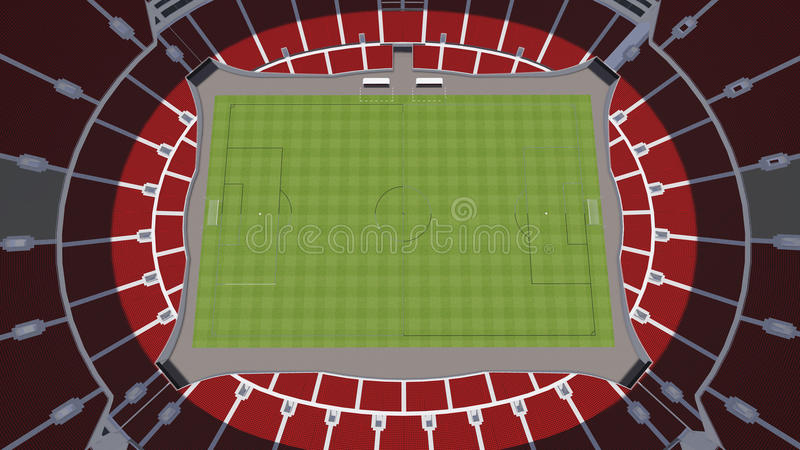 stade illustration stock