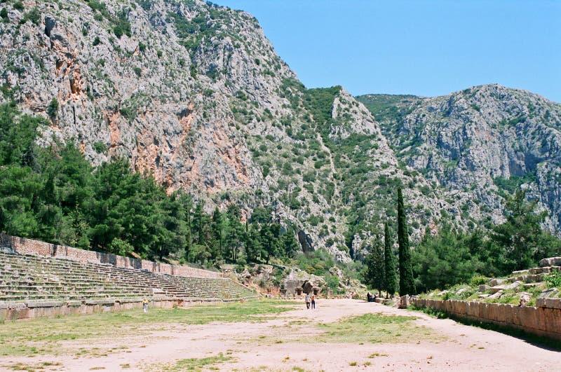 Stade antique en Grèce photos stock
