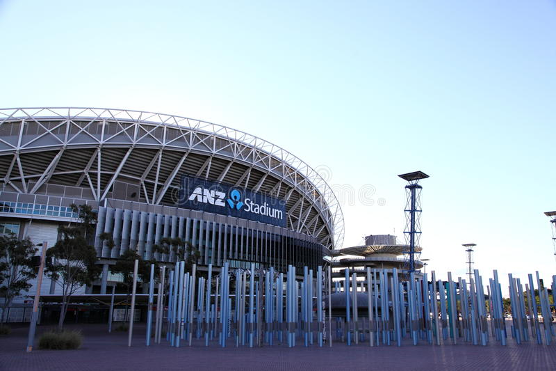 Stade Australie photographie stock libre de droits