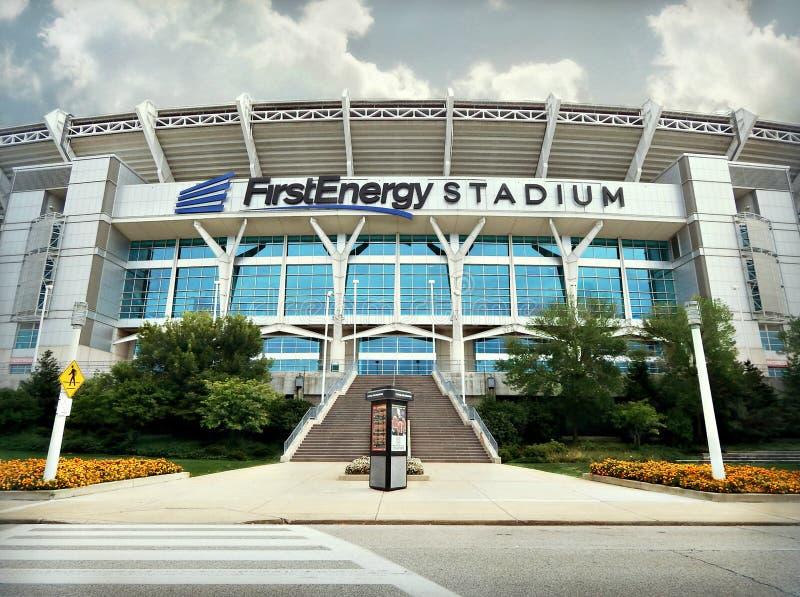 Stade Cleveland, Ohio de FirstEnergy images libres de droits