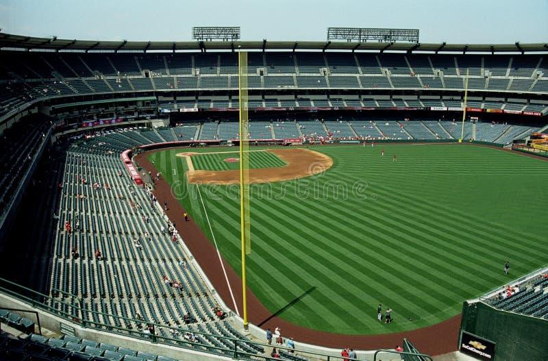 Stade d'ange d'Anaheim photographie stock libre de droits