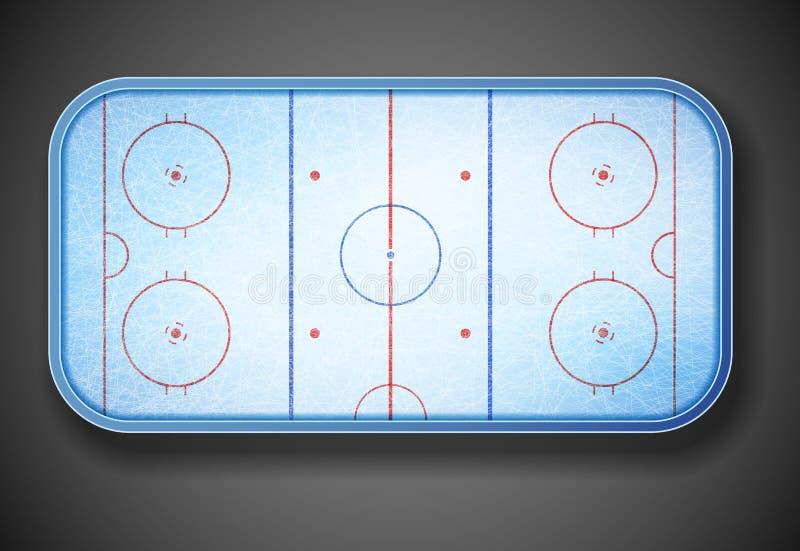 Stade d'hockey illustration libre de droits
