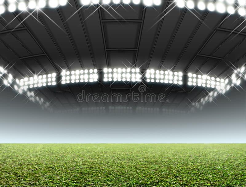 Stade d'intérieur générique illustration de vecteur
