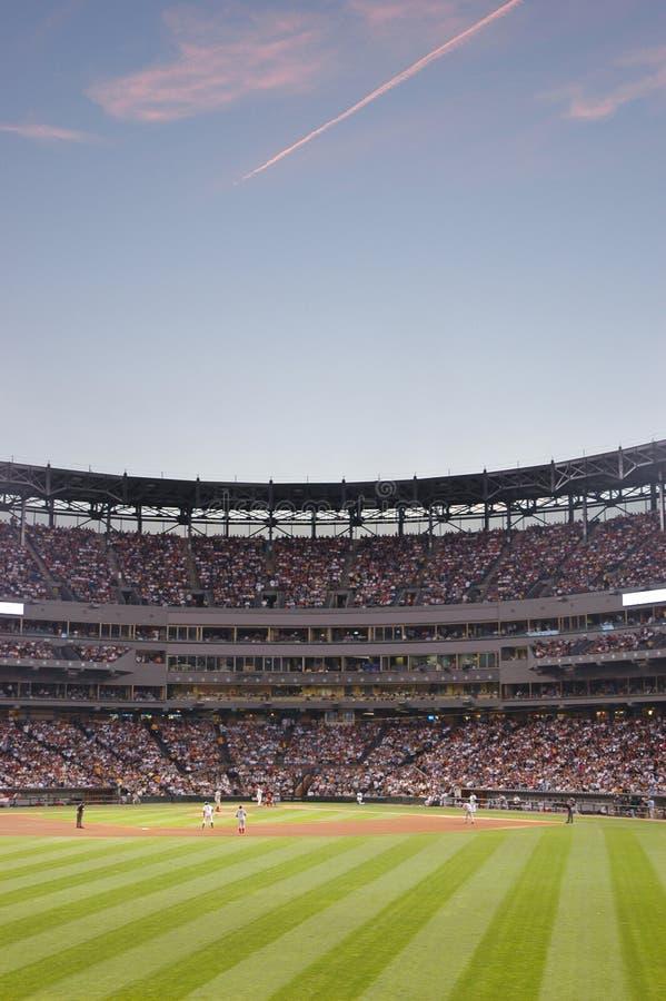 Stade de base-ball photos libres de droits