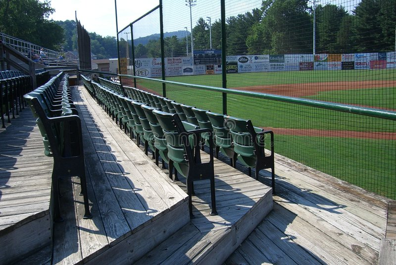 Stade de base-ball de Ligue Mineure - Bristol, la Virginie image libre de droits