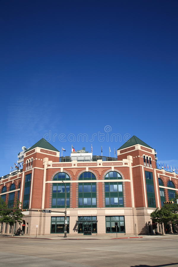 Stade de base-ball de Texas Rangers à Arlington image stock