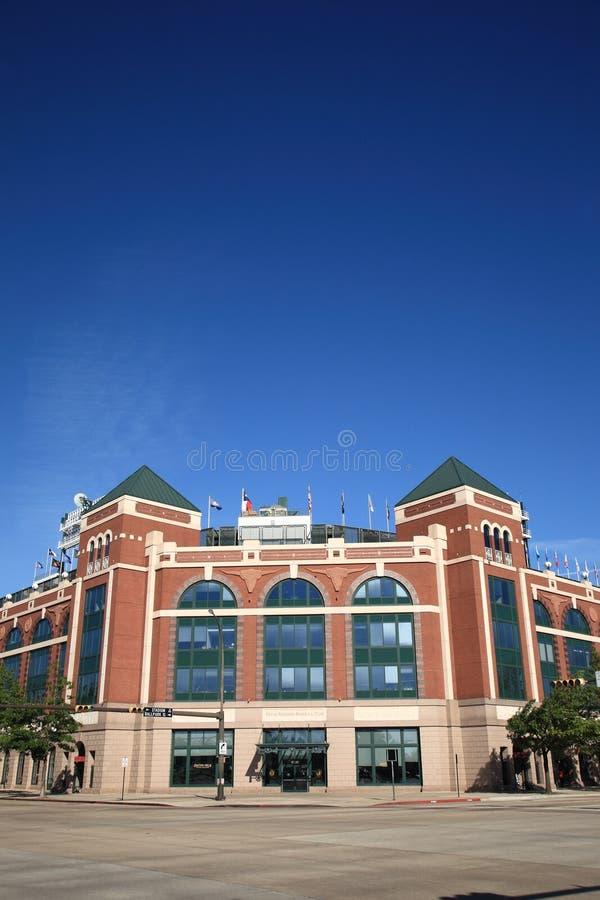 Stade de base-ball de Texas Rangers à Arlington image stock
