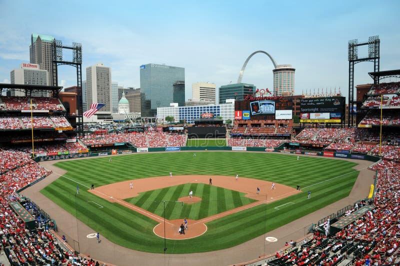Stade de Busch à St Louis photographie stock