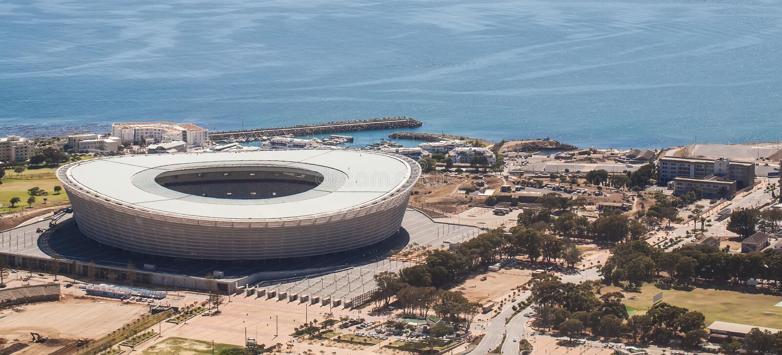 Stade de Capetown photos stock