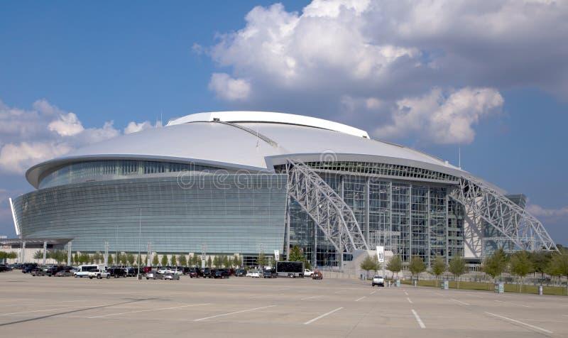 Stade de cowboy - Super Bowl 45 images libres de droits