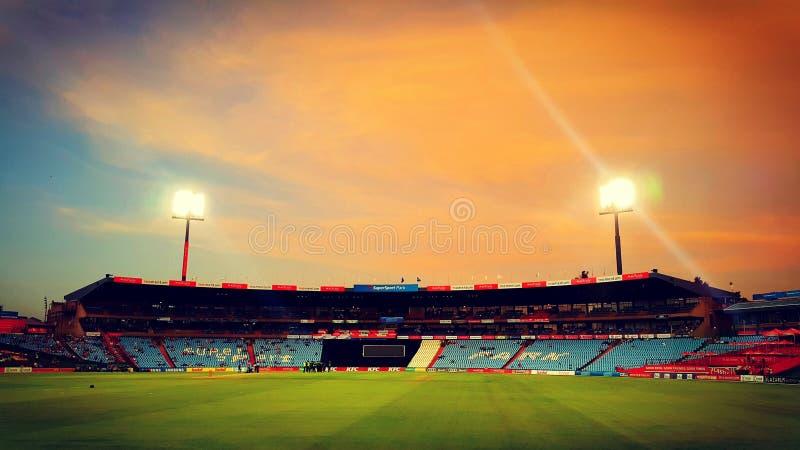 Stade de cricket de centurion photographie stock