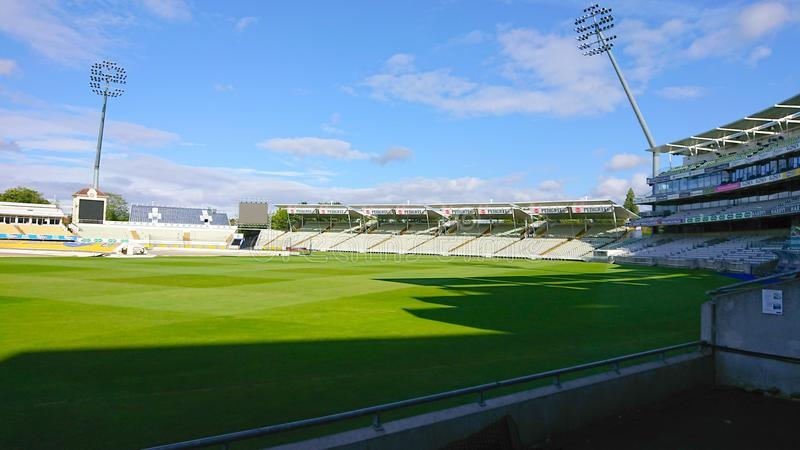 Stade de cricket d'Edgebaston photo libre de droits