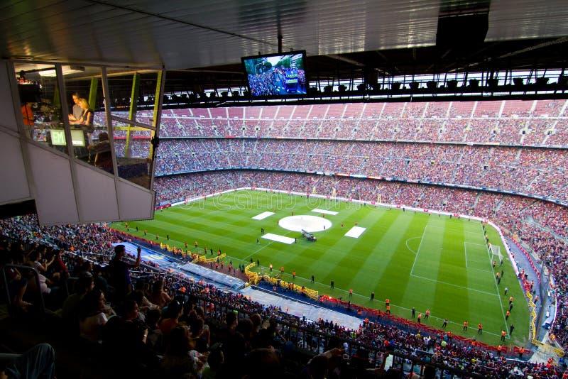 Stade de FC Barcelone photo libre de droits