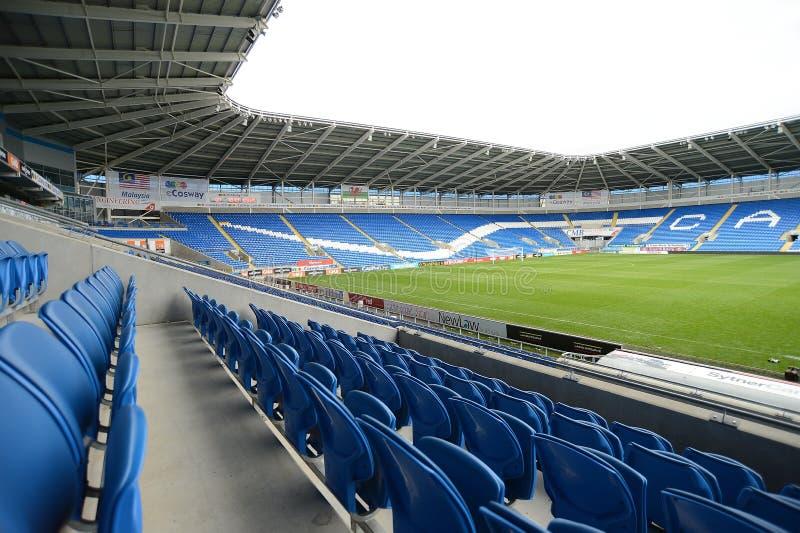 Stade de football photo libre de droits