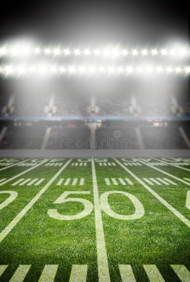 stade de football américain image libre de droits