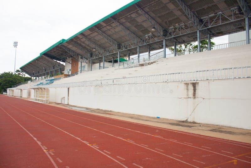Stade de football avec l'allocation des places photos libres de droits