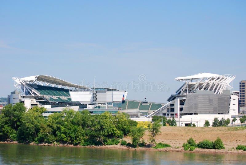 Stade de football de Bengals images stock
