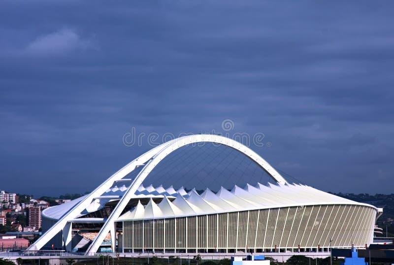 Stade de football de l'Afrique du Sud Moïse Mabhida photographie stock