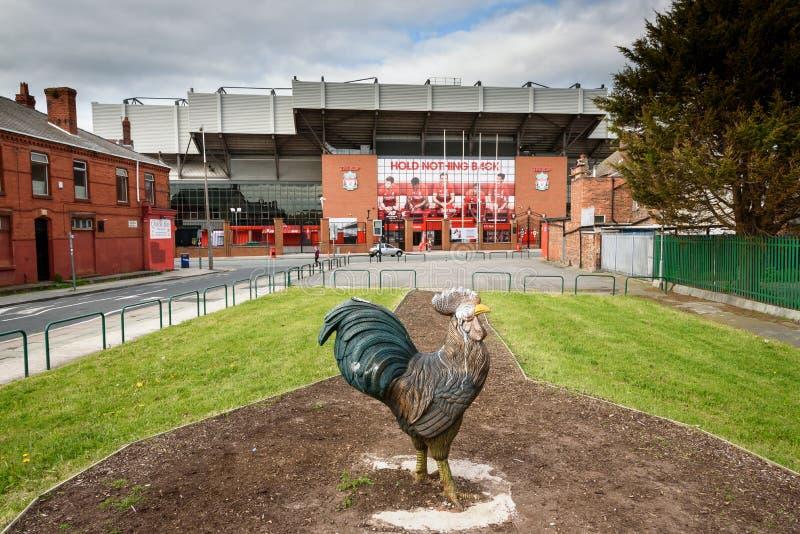 Stade de football de Liverpool image stock