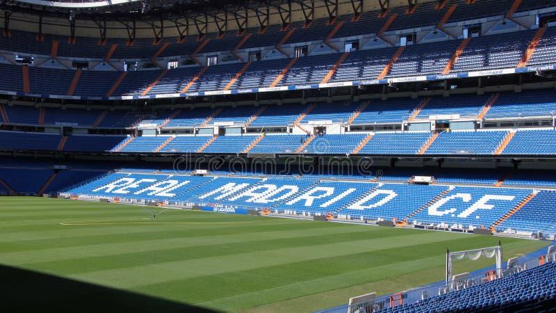 Stade de football de Real Madrid en Espagne photo libre de droits