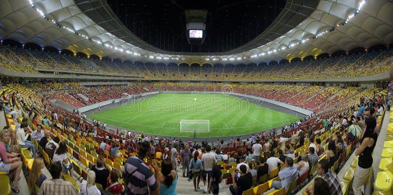 Stade de football national d'arène photographie stock libre de droits