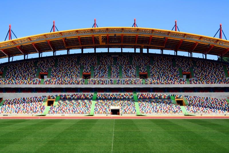 stade de football vide photo stock