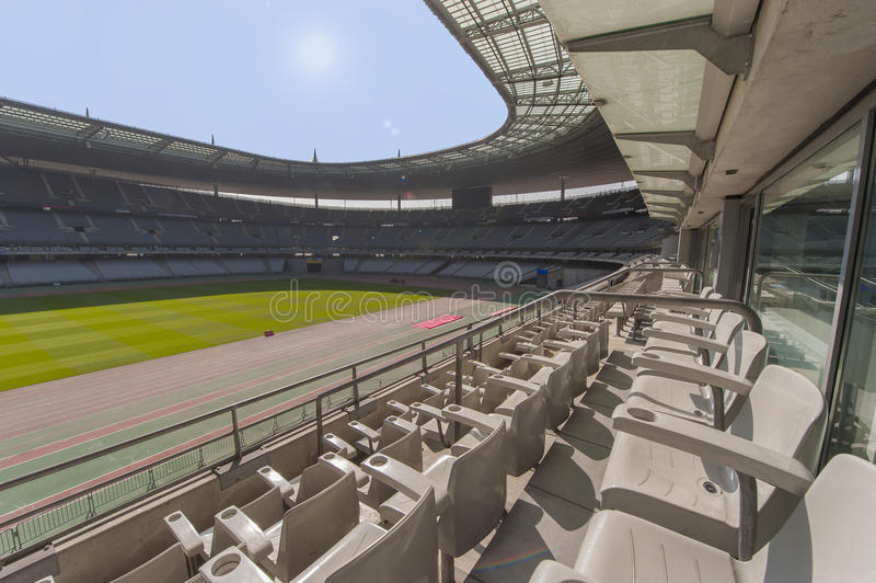 Download Stade De France stadium zdjęcie stock editorial. Obraz złożonej z magistrala - 57656533