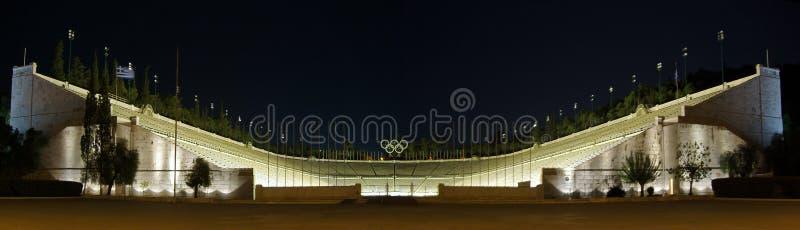 Stade de Kalimarmaro - Athènes photos libres de droits