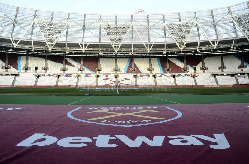Stade de Londres photo stock