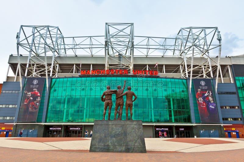 Stade de Manchester United images libres de droits