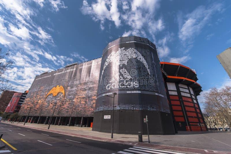 Stade de Mestalla photo stock