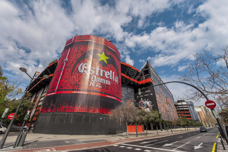 Stade de Mestalla photo stock