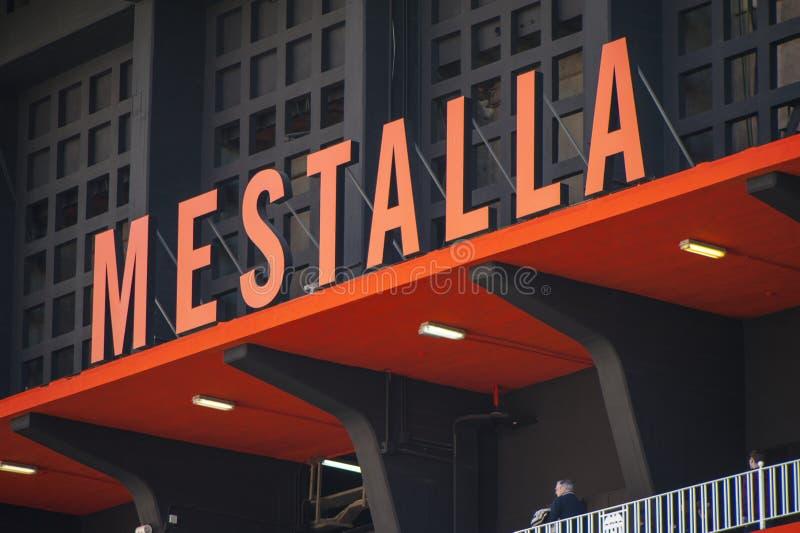 Stade de Mestalla images libres de droits