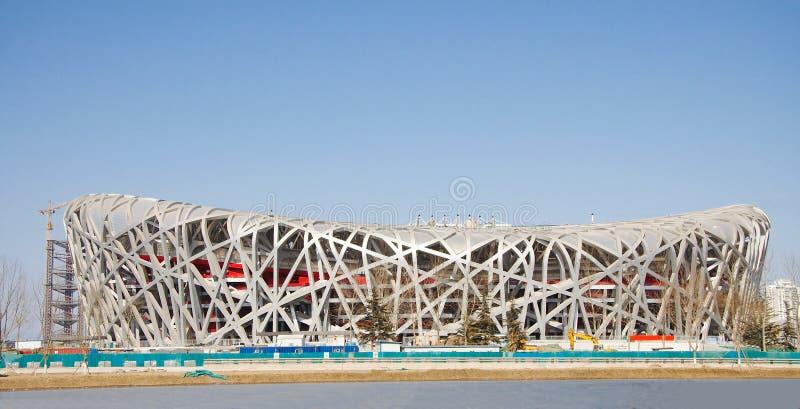 Stade de national de la Chine image libre de droits