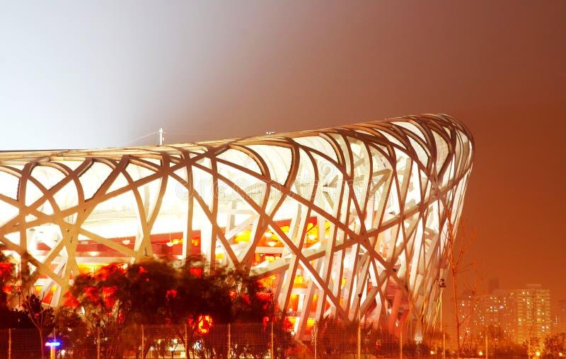 Stade de national de la Chine images stock