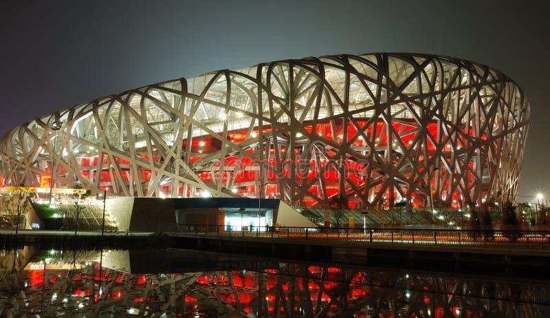 stade de national de Pékin photo stock