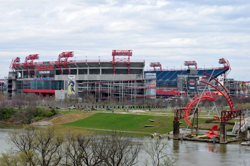 Stade de Nissan à Nashville Tennessee images libres de droits