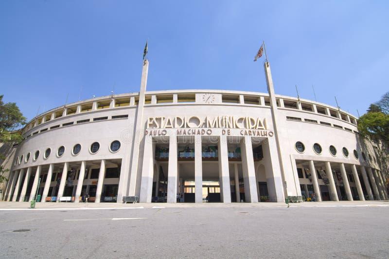 Stade de Pacaembu à Sao Paulo, Brésil image stock