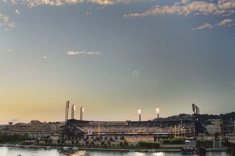 Stade de parc de PNC photo stock