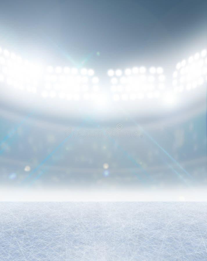 Stade de patinoire illustration libre de droits