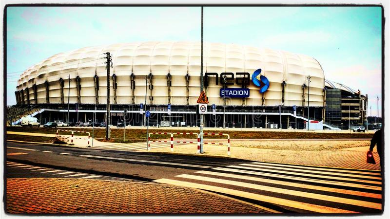 Stade de Poznan photo stock